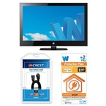 """AWA 32"""" Full HD LED TV Bundle with 2 yrs Protection Plan and HDMI Cable $298 BigW FREE Delivery"""