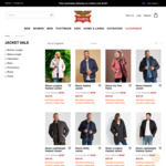 Selected Jackets - $39 (Save up to $81) + $10 Delivery (Free with $100 Spend) @ Rivers