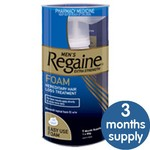 3 Months of Regaine Foam for Only $96.65. Includes Shipping