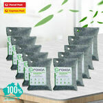 Air Purifying Bags Natural Bamboo Activated Charcoal for Home, 200g $13.79 Delivered @ for_home_australia via eBay