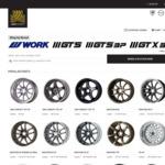 15% off JDM Concept X Work Wheels Collaboration