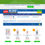50% off Goat Products (e.g. Goat Soap $1.49) + $8.95 Delivery ($0 C&C/ $50 Order) @ Chemist Warehouse