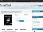 iPad 2 Clear Screen Protectors $2.00 Free Shipping - Worldwide!
