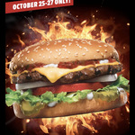 [QLD, NSW, SA, VIC] October Daily Deals $3- $5 (Every Mon to Wed) & All Week Deals via MyCarl's App @ Carl's Jr
