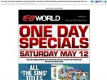 EB Games One Day Sale (Again) - 12/5/12