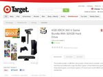 XBOX 4GB 360 Kinect 4 Game Bundle with 320GB Hard Drive $339 @ Target Online (Click & Collect)