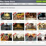 Mac Game Store - GAMES OF THE YEAR SALE - Save up to 50% on The Best Mac Games of 2012!