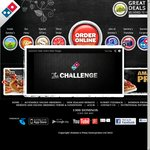 Domino's Pizza 3 Value, Traditional or Chef's Best Pizzas $25 delivered