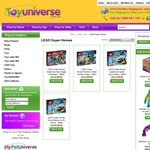 20% Off All LEGO Super Heroes Sets Coupon