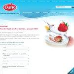 Free Easiyo Yogurt Sachels from Easiyo