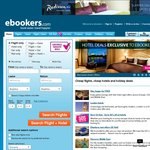 15% off Qualifying Hotels on Ebookers
