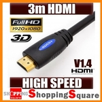 HDMI Cable V1.4, Ethernet Gold 1m @ $1.94 2m @ $2.94 3m @ $4.94 Mini DisplayPort to HDMI $4.99
