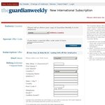 Guardian Weekly Subscription 50% off * $140.24 AUD