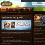 Blizzard Black Friday Sale Wow ($5), Mists ($10), Heart of The Swarm ($20)