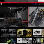 DC Shoes, Roxy & Quiksilver Online Stores - $20 off on $50 Spend