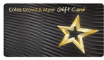 Coke Rewards - Coles and Myer Gift Cards $50 for 1000 Tokens, $100 & $200 Also Available