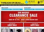 ThreadsOrDead.com.au Massive Clearance Sale – Save up to 70%