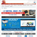 """Intel NUC Celeron N2820 $139 + Other Assembled """"Ready to Go"""" NUC's from $299 @ Shopping Express"""