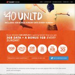Boost Mobile Extra 1GB Data Every Sunday