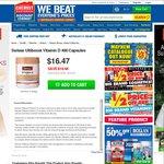 Half Price - Swisse Ultiboost Vitamin D 400 Capsules $16.47 Save $16.48 @ Chemist Warehouse