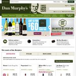 Dan Murphy's FREE Standard Shipping with Code DELIVER