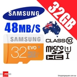 Samsung EVO Micro SD 32GB $17.95 + ($1 Shipping Storewide This Long Weekend) @ Shopping Square