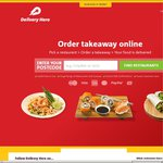25% of All Takeaway at Delivery Hero for New Customers (Plus 10% Cashback at Cashrewards)