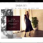 SABA 30% off Full Priced Menswear, 20% off Womenswear
