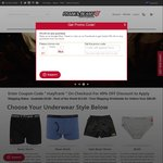 49% off Mens and Womens Underwear & Free Shipping over $50 @ Frank and Beans