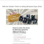 Win a Golden Ticket to Safety by Britax Worth $3300