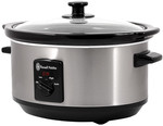Russell Hobbs 3.5L Stainless Steel Slow Cooker $29 (Was $49) @ Target - Online or In Store