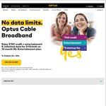 Optus Cable - up to $740 Welcome Credit