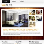 WA Tiles - Porcelain Tiles 800*800 for $36m² & 600*600 for $27m²