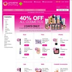 40% off Cosmetics @ Priceline (9/11 & 10/11)