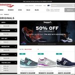 50% off Saucony Originals (Click Frenzy)
