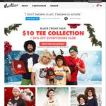 Threadless - Range of T-Shirts for US $10 each (~AU $13.45), 30% Off Everything Else, Free Shipping over US $90