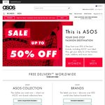 ASOS - 50% off Select Items (E.g. Shoes: Chelsea Boots $54/ $59, Bomber Jacket $44)