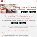 Win a Share of 110 Instant Win eGift Cards ($50 x 25 / $20 x 85) from Shop a Docket