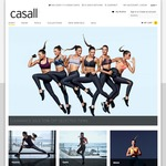 Extra 30% off All Sale Items Plus a Free Water Bottle with Every Purchase @ Casall Australia