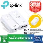 TP-Link TL-WPA8630P KIT AV1200 Passthrough Powerline Edition + Free TL-PA8010P Powerline (Single Unit) $174.04 @ Wireless1 eBay