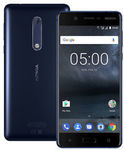 "Nokia 5 16GB/2GB 5.2"" Blue $217, Nokia 3 16GB/2GB Black $160; Both: (b28) Dual SIM, MicroSD, Stock Android 7 w/updates @ QD eBay"
