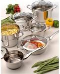 Berghoff Tulip 12-Piece Cookware Set $99 @ Harvey Norman