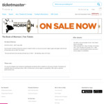 The Book of Mormon, Melbourne $65 Tickets via TicketMaster