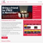 Pop-up Globe, Bring a Friend for Free in Nov [Melbourne]