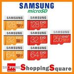 Samsung EVO Plus Micro SD Card 100MB/s 64GB $27.96, 128GB $63.95 Delivered (AU) @ ShoppingSquare eBay