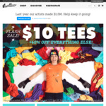 $10USD T-Shirts & 40% Off Everything Else @ Threadless (Plus $10USD Off Orders $75USD+)
