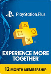 PlayStation Plus 12 Month Subscription - $44.96 + Shipping (~$3.50) @ EB Games