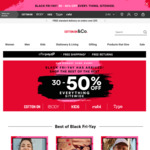 Cotton On Extra 10% off On Top of Existing Black Friday Sale