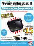 Linksys WRT54G2 Wireless Router for $15 @ Wireless1