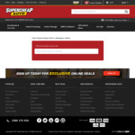 $127 to $349 Tool Pro Cabinets 50% off at Supercheap Auto